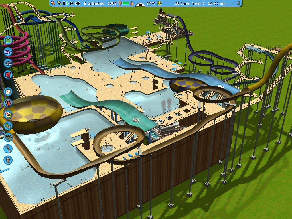 rollercoaster tycoon 5