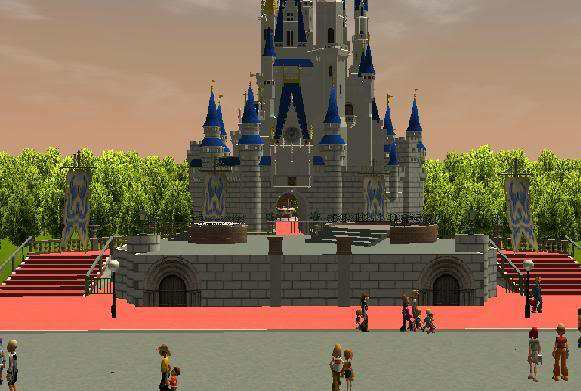 Cinderella S Castle Forecourt Stage Downloads Rctgo