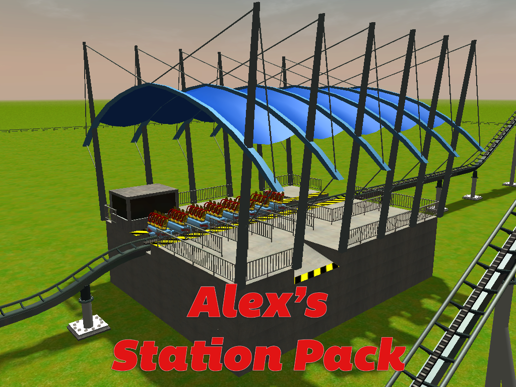 Roller Coaster Tycoon  Station Building
