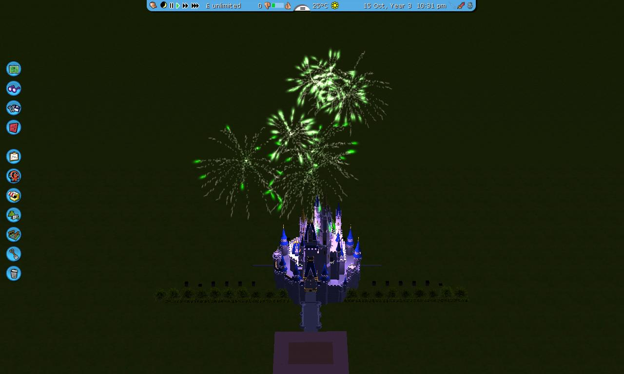 how to build a mixmaster display on rct3