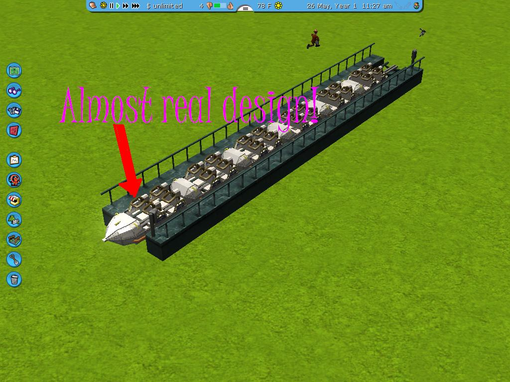 rct3 space mountain mission 2 custom scenery