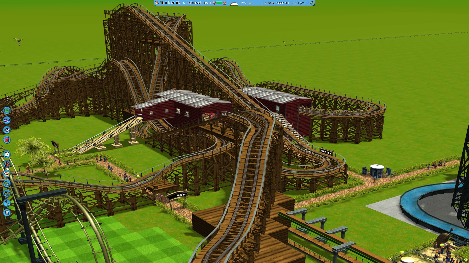 rollercoaster tycoon 7
