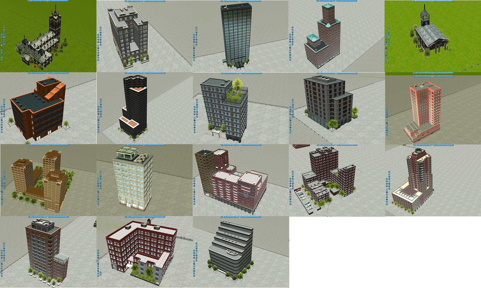 Reloaded] 18 Buildings Pack - Downloads - RCTgo