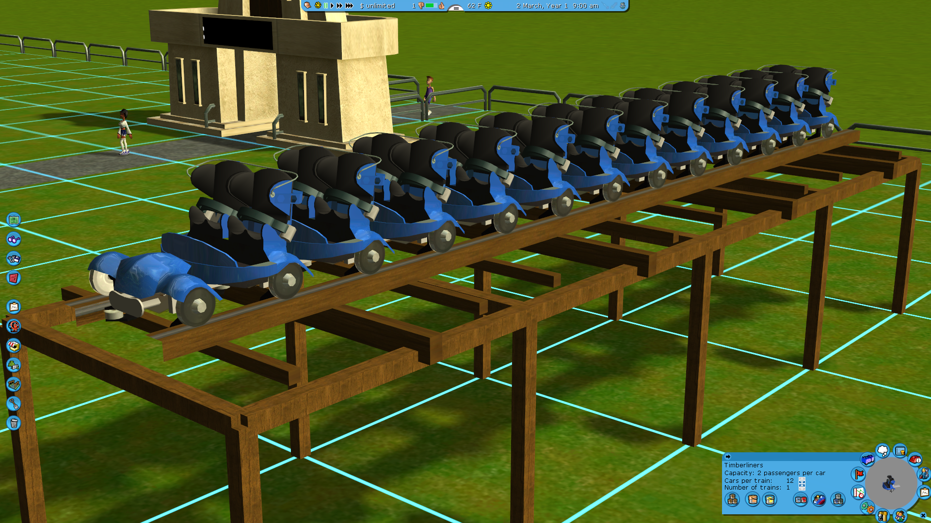 Tracks And Cars For Rct