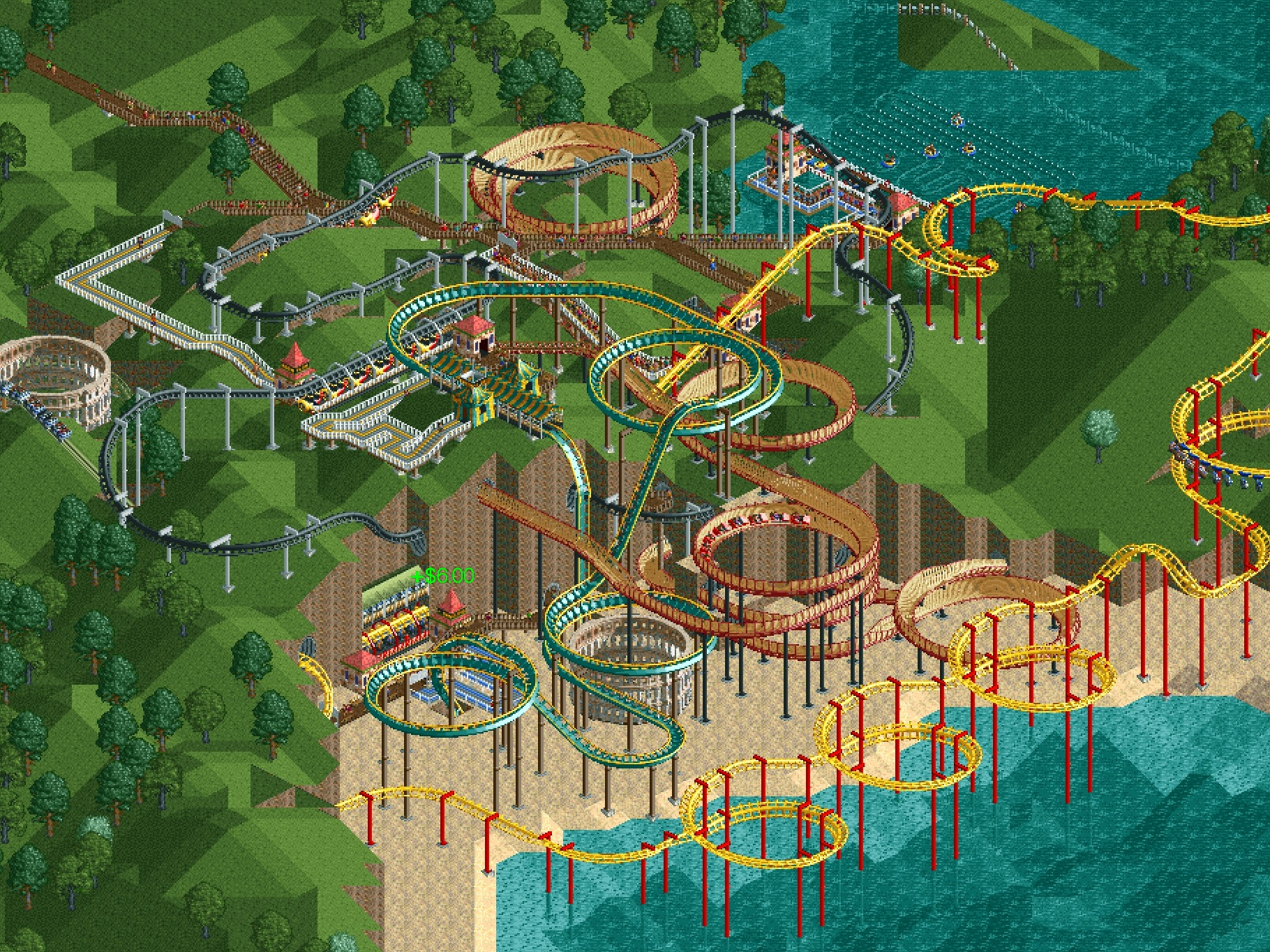 RCTC] Dragon's Cove - completed - Downloads - RCTgo