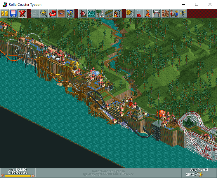 rct3 saved games