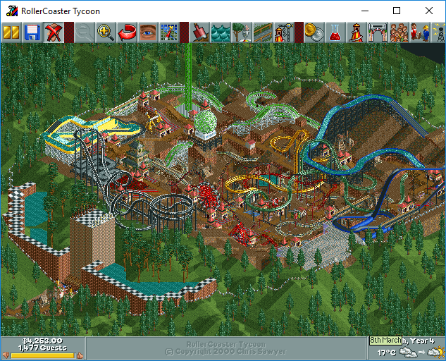 My Roller Coaster Tycoon Saved Games & Tracks Part 6 - Downloads - RCTgo