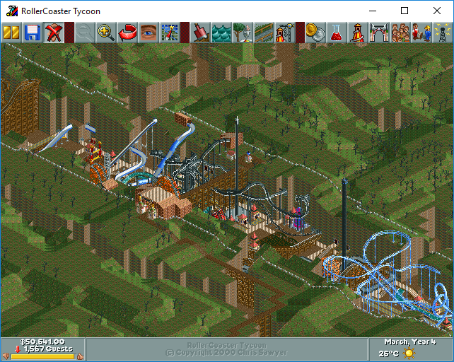 My Roller Coaster Tycoon Saved Games & Tracks Part 9 - Downloads - RCTgo