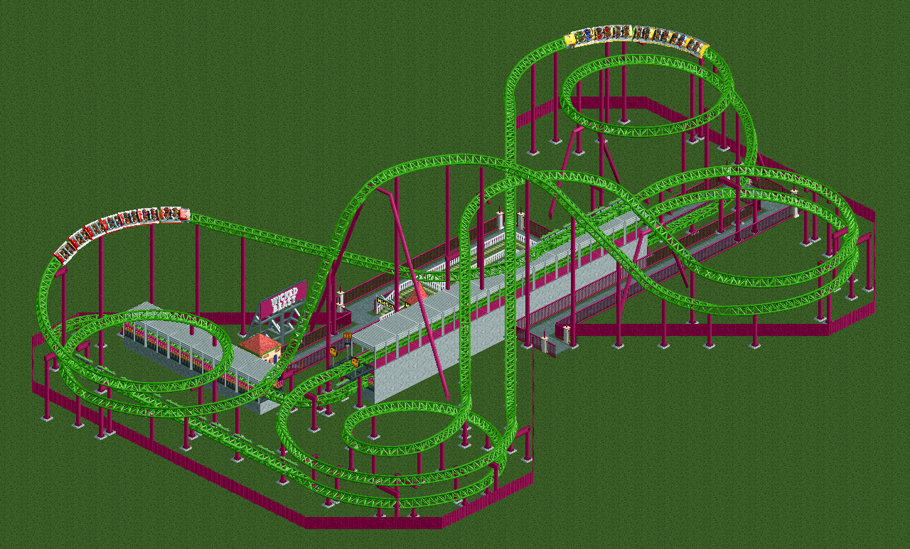 Wicked Beast (RCT2) - Downloads - RCTgo