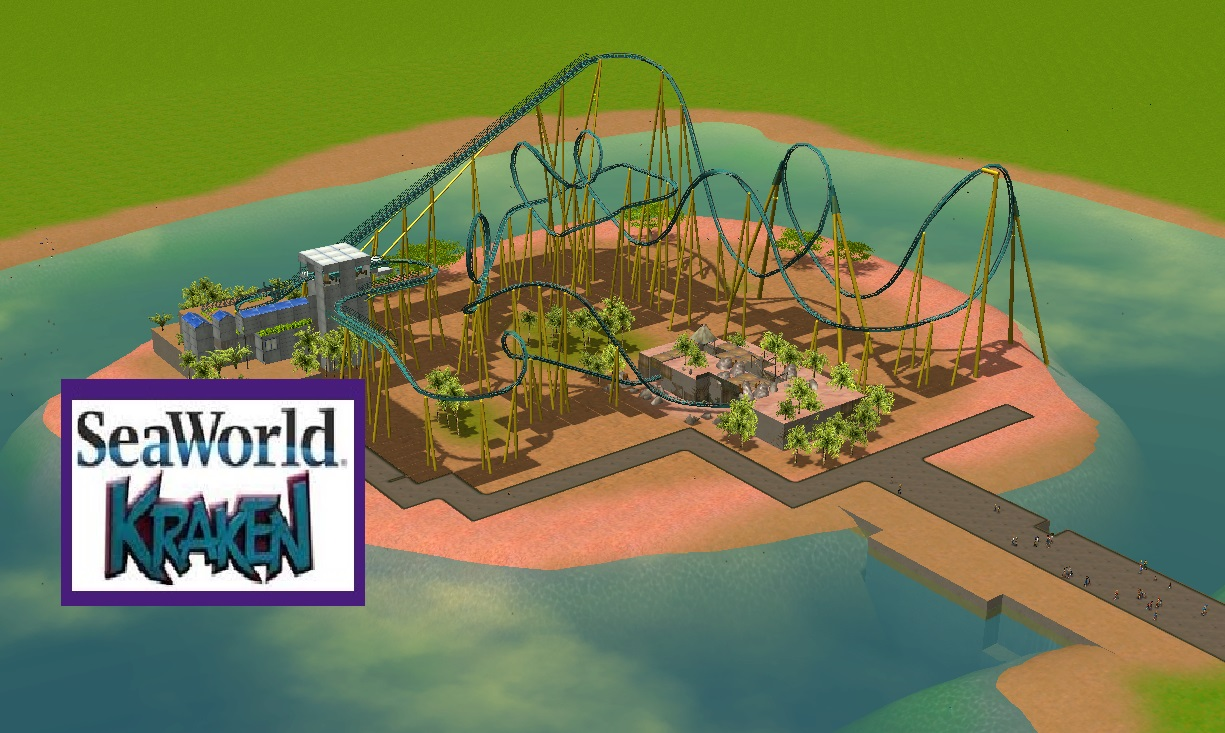 KRAKEN [RCT3] (SEA WORLD) - Downloads - RCTgo